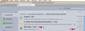 Installer MailMerge