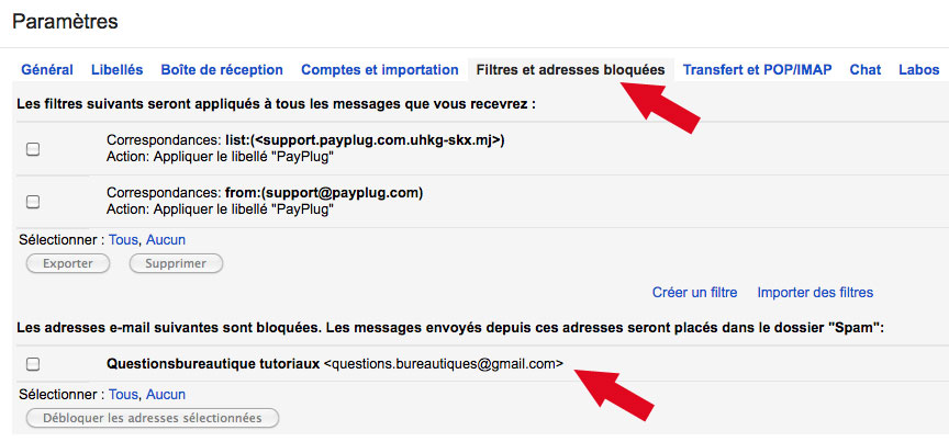 Comment spammer une adresse mail gmail