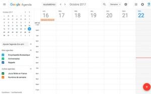 Google agenda 2017
