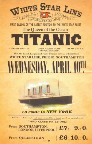 Class and Gender in Shaping the Memory of the Titanic Disaster Since 1912  Appendix