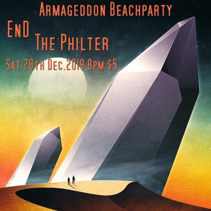 Armageddon Beach Party, EnD, The Philter, Detroit,
