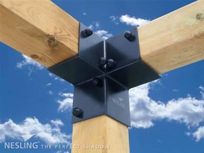 nesling kit pergola raccord d angle x 2