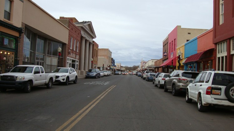Historic downtown Silver City