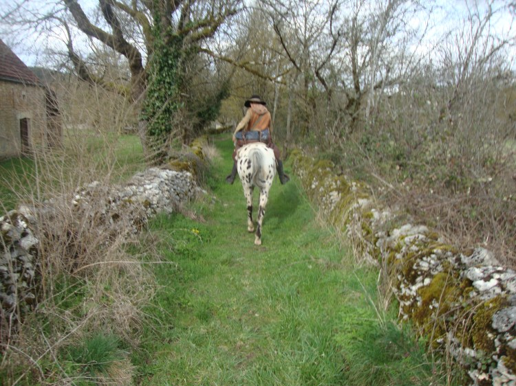We have nothing to compare to the Equestrian trail system here in France it is so lovely, clean, well marked and accommodations along the routes.