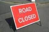 Road Closed sign (photo)
