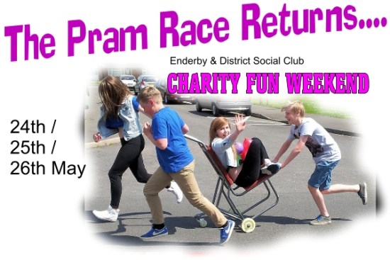 pram race returns