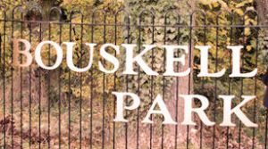 Bouskell Park Sign