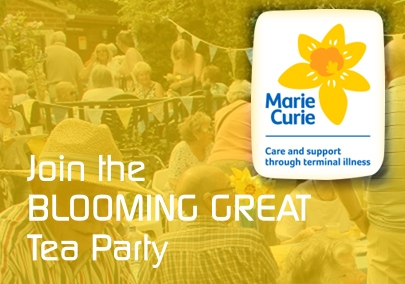 Join the Blooming Great Tea Party [Graphic]