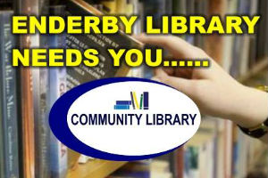 Enderby Library Needs You