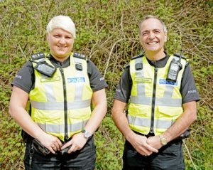 Photo of two special constables
