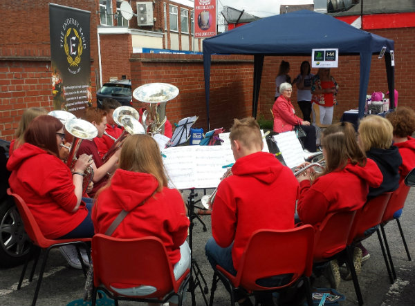 enderby band at library
