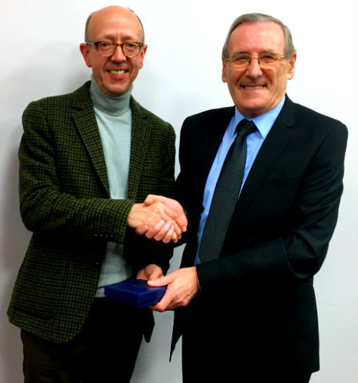 Cllr.Geisler presentation to Paul Chadwick