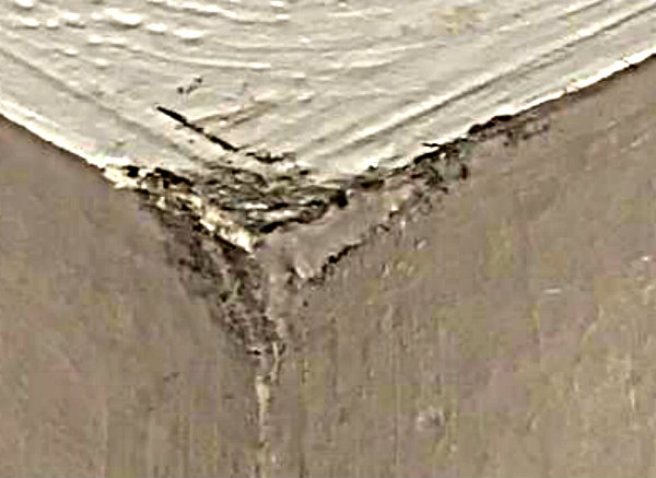 Mould in corner of ceiling 2