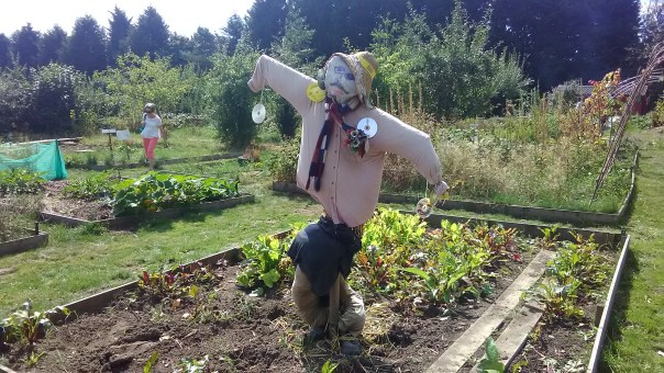 Scarecrow at A Place To Grow