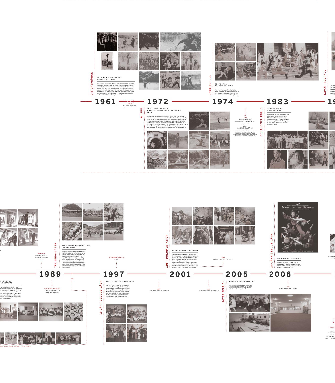 30 Jahre Wushu Taichi Akademie. Endformat Designstudio. Design in Konstanz am Bodensee