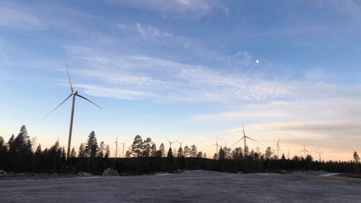 Wind energy in Sweden during Covid-19