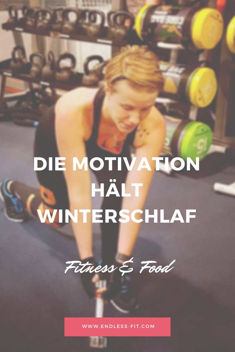 Motivation hat Winterschlaf
