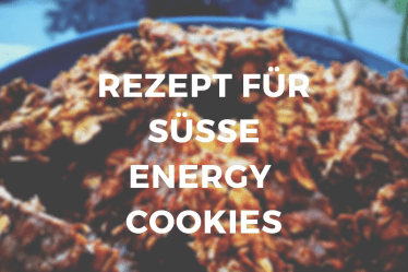 Süße Low Carb Energy Cookies