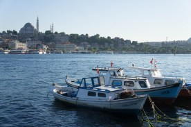 Boote in Istanbul