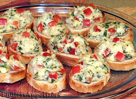 Make Ahead Starters Dinner Party
