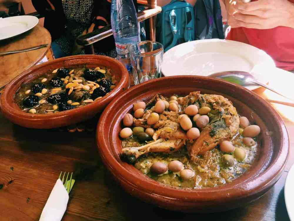 Traveling gluten free in Morocco may seem intimidating, with a language and cultural barrier and unfamiliar food. Follow my tips for eating gluten free in Morocco and have a stress free, tasty, and safe experience! Includes safe gluten free dishes, gluten free restaurants, and the best gluten free hotel in Marrakech. #glutenfree #glutenfreetravel #glutenfreemorocco #morocco #marrakech