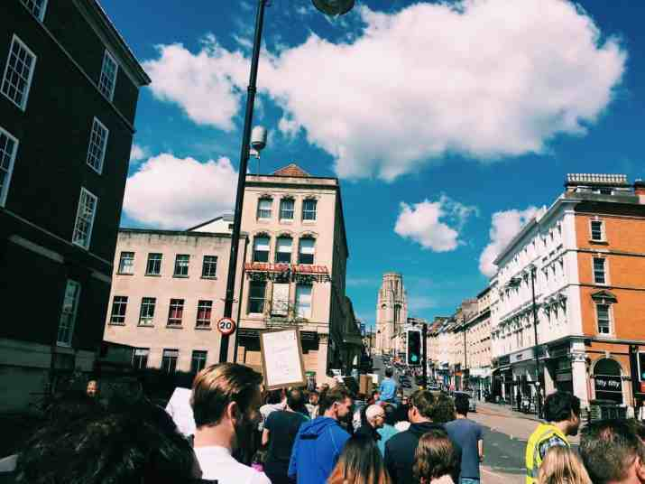 Bristol Science March - Endless Distances