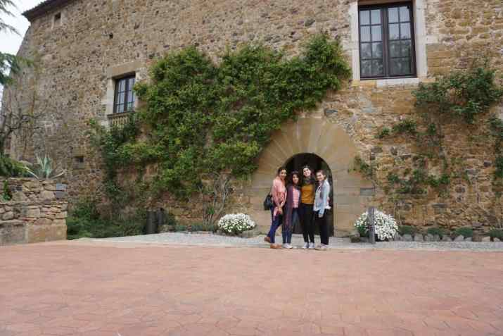 The perfect day trip from Girona, Spain is a visit to Dali's Castle of Pubol, the surrealist masterpiece Dali made for his wife, Gala.