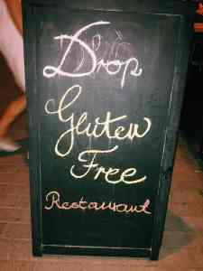 DROP, Budapest's 100% gluten free restaurant. If you're finding yourself hungry in Hungary, read this ultimate guide to gluten free Budapest! Including 100% gluten free Budapest restaurants and more.