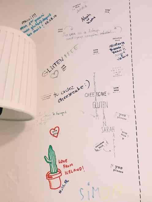 Gluteno gluten free travelers' wall writing! If you're finding yourself hungry in Hungary, read this ultimate guide to gluten free Budapest! Including 100% gluten free Budapest restaurants and more.