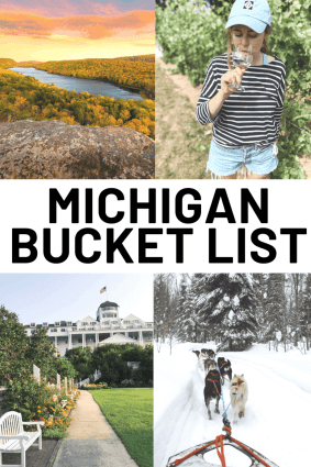 This Michigan bucket list, written by a Michigander, has 55+ things to do in Michigan   USA   United States of America   Travel Destinations   Backpack   Backpacking   Vacation   Bucket List   Budget   Off the Beaten Path   Local Guide   Wanderlust #travel #vacation #backpacking #budgettravel #offthebeatenpath #bucketlist #wanderlust #Michigan #USA #America #UnitedStates #exploreMichigan #visitMichigan #seeMichigan #discoverMichigan #TravelMichigan