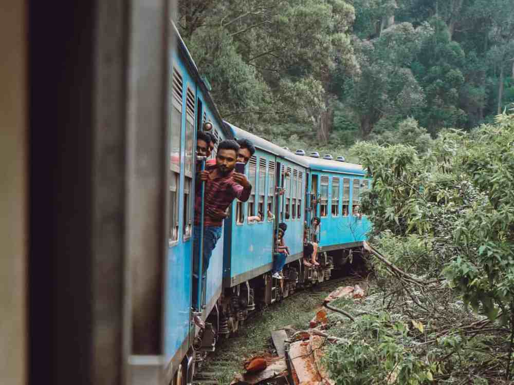 Everything you need to know about the Colombo to Ella train journey, including timetables, tickets, and even the side to sit on for the best views. #colombotoellatrain #kandytoellatrain #trainsinsrilanka #srilankatravel