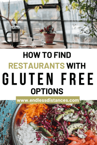 This guide includes seven resourses to empower you to find restaurants with gluten free options, without relying on automatically generated lists. #glutenfreerestaurants #restaurantswithglutenfreeoptions #diningoutglutenfree