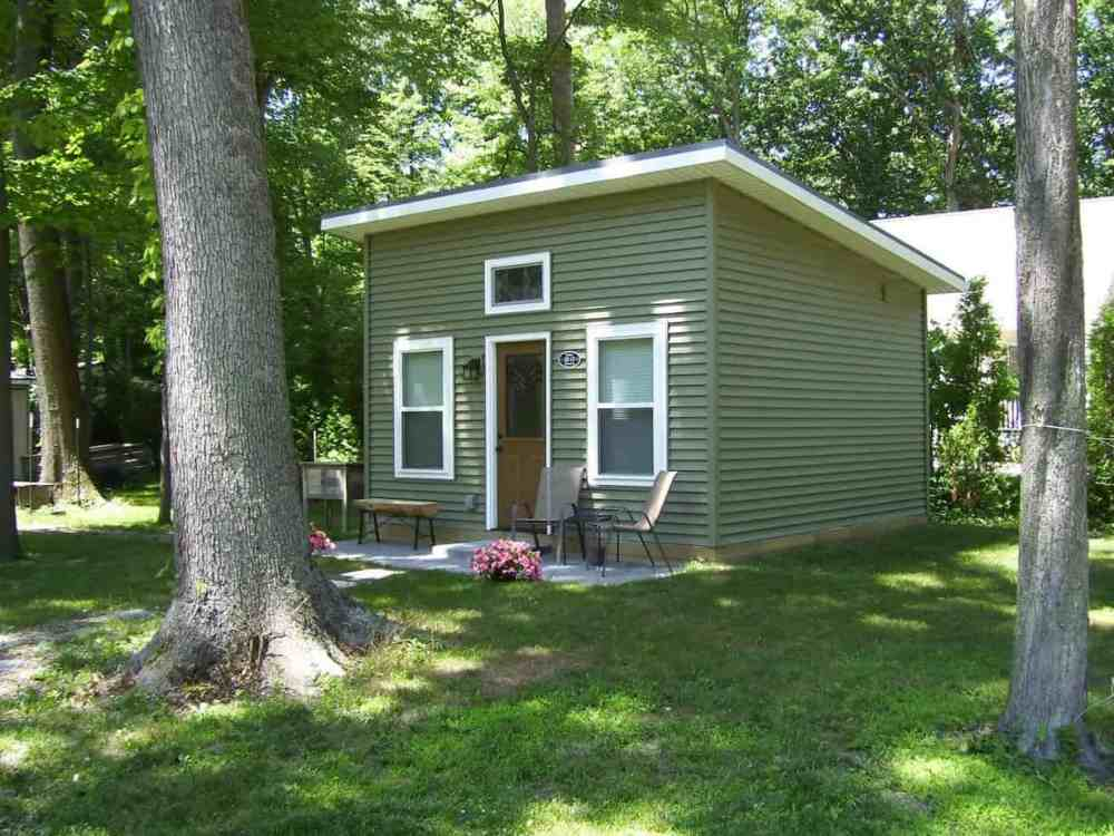 a Michigan tiny house