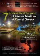 7th International Congress of Internal Medicine of Central Greece, 19-21 Μαρτίου 2015, Λάρισα, Ξενοδοχείο Larissa Imperial Hotel