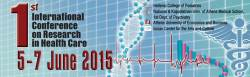 1st International Conference on Research in Health Care, 5-7 Ιουνίου 2015, Χωρέμειο Αμφιθέατρο του Νοσοκομείου Παίδων « Η Αγία Σοφία», Αθήνα