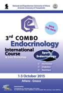 3rd International COMBO Course, October 1st-3rd, EDEN Hotel, Anavissos, Attiki