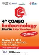 4th COMBO International Endocrinology Course, October 6-8, 2016, Anavyssos, Athens