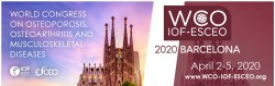2020 WCO-IOF-ESCEO Congress, Barcelona, Spain, April 2-5, 2020