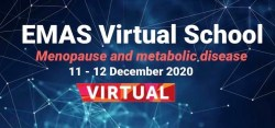 Virtual School της European Menopause and Andropause Society (EMAS): Menopause and Metabolic Disease, 11-12 Δεκεμβρίου 2020