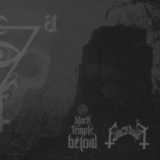 Black temple Below/Fuoco Fatuo - Split LP - LP