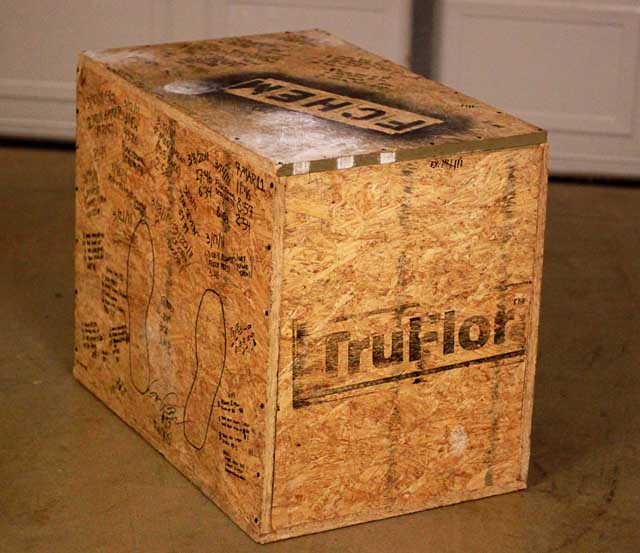 How to Build a Plyometric Box