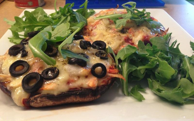Paleo Portabella Pizza