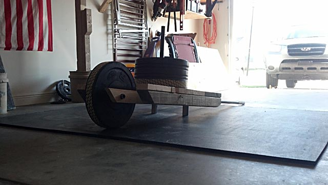 Diy wheelbarrow and sled in