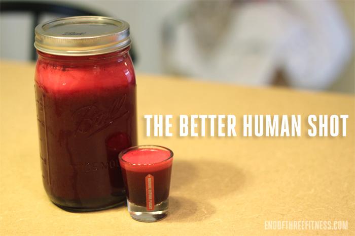 the better human shot