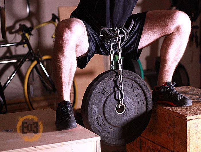 Hip Belt Squat, garage gym