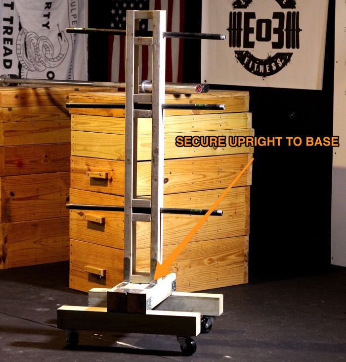 Weight Of Tree Wood: DIY Weight Tree: Bumper Plate Storage For The Garage Gym