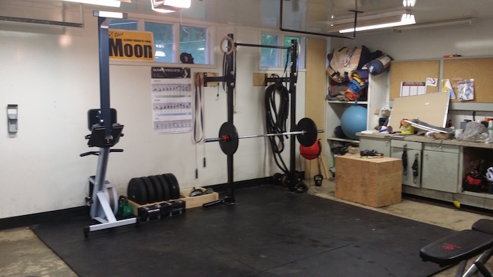 Garage gym equipment packages rogue fitness