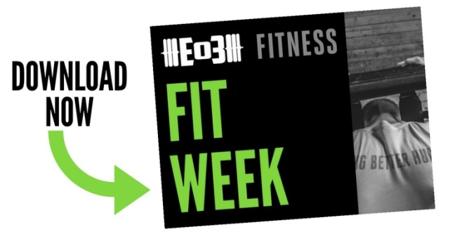 fit week, fitness testing, crossfit, end of three fitness