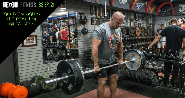 zach even-esh, strong life, podcast, end of three fitness, garage gym