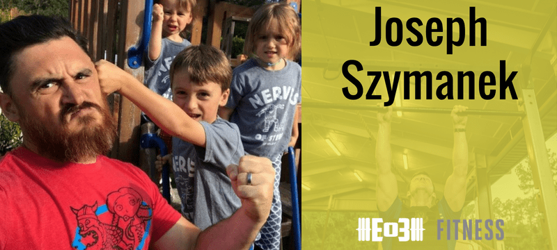 Luci Meets a Powerlifter with Joseph Szymanek